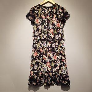NWT Massini Blue Floral Dress